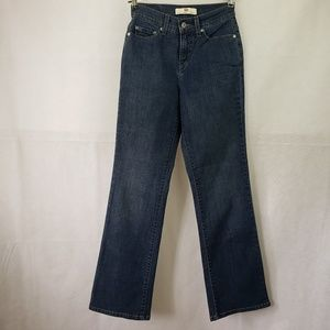 Levi's Perfectly Slimming 512 Blue Jeans Size 2
